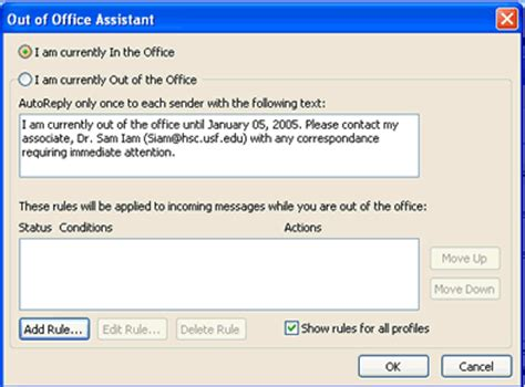 ooo message template microtech out of office helpsheet