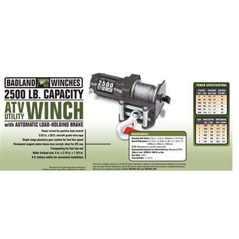 electric boat winch harbor freight 2500 lb atv utility electric winch with wireless remote