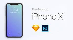 70 free apple iphone x sketch psd mockup templates free