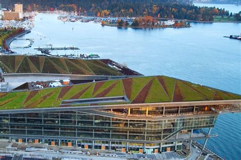 vancouver convention centre green roof flynn group of aia cote unveils the top ten green architecture projects