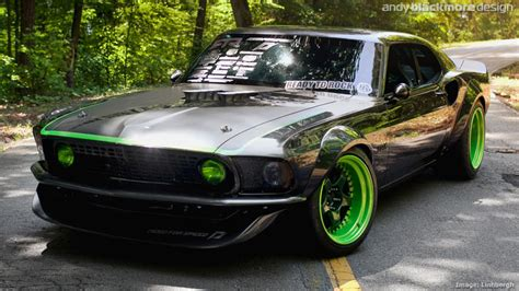 Mustang Rtr X by Styling Livery Ford Mustang Rtr X Part 2 Sema 2010