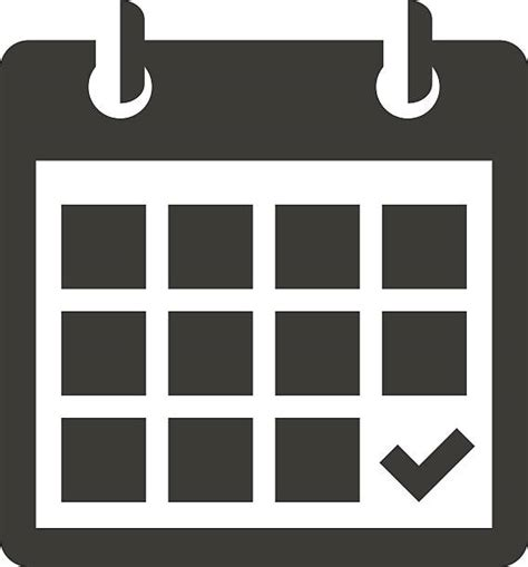 Calendar Icon Vector Calendar Clip Vector Images Illustrations Istock
