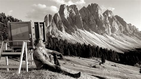 large format invisible light the dolomites in ultra large format by