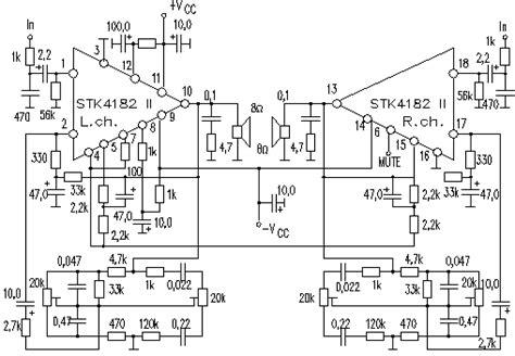 Power Lifier Stk 150w power lifier schematic design power switch elsavadorla