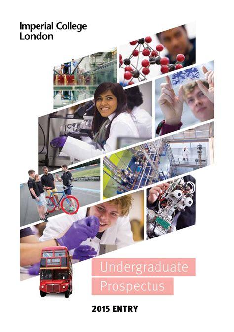 magazine design university course undergraduate prospectus 2015 entry by imperial college