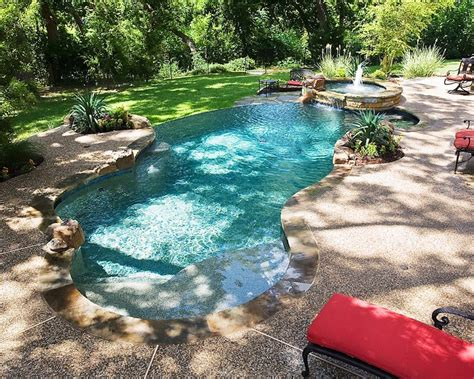 Luxury House Plans With Pools building a tropical lagoon style pool riverbend sandler