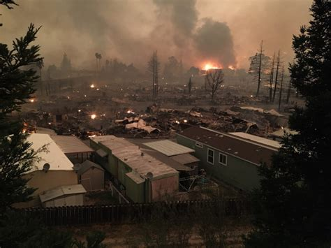 napa santa rosa fires claim 10 lives 1 500 structures