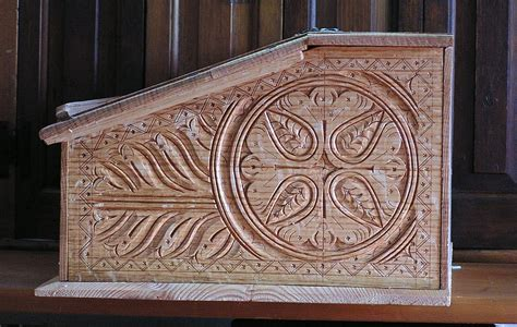 seventeenth century carved boxes peter follansbee