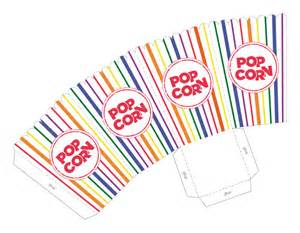 popcorn template rainbow stripe popcorn box printable pdf great for baby