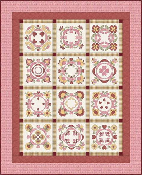 baltimore bliss quilt pattern fcp 011