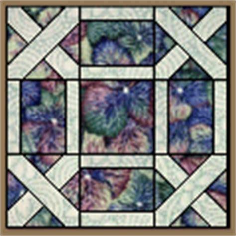 Garden Maze Quilt Block Pattern by Garden Maze Quilt