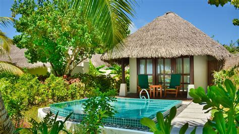 Cottages With Pool by Luxury Island Cottages Sheraton Maldives Resort