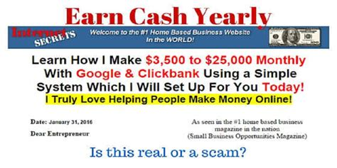 I Wanted To Write About The Usa Today Review Of Th by Is Earn Yearly A Scam Business Ideas