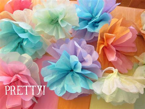 How Do You Make Crepe Paper Flowers - shore society diy tissue paper flowers