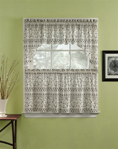 kitchen curtains vintage wondrous corner white home office design with single white