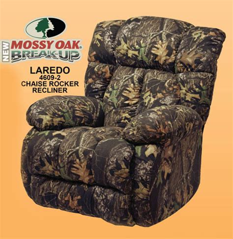 Camouflage Recliner Cover by Laredo Camouflage Chaise Rocker Recliner By Catnapper
