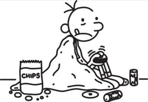 Diary Of A Wimpy Kid Coloring Pages Coloring Home Pages Greg Diary