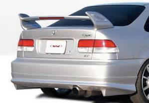 99 00 honda civic 2dr w type style wings west kit