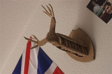 diy cardboard deer template 25 best ideas about cardboard deer heads on