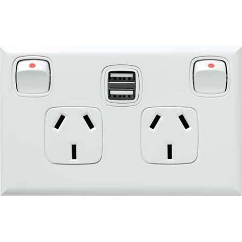 2 1a usb wall charger hpm powerpoint dual 2 1a usb charger switches