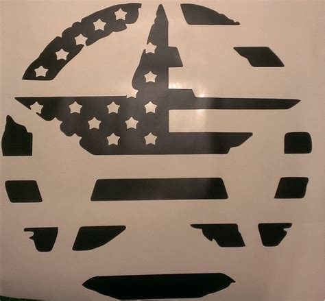 jeep wrangler military decals military star american flag hood decal jeep wrangler jk cj