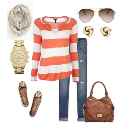 Ransel Wanita Fashion Casual 210 quot casual quot by christine kennedy ransel on polyvore i like stripes