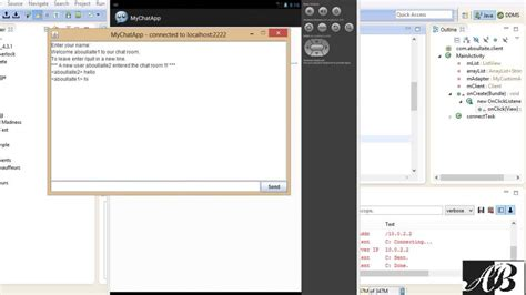 java swing android multi client server chat application using java swing