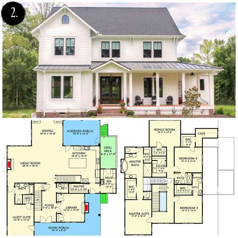 farmhouse plans house plans modern farmhouse escortsea
