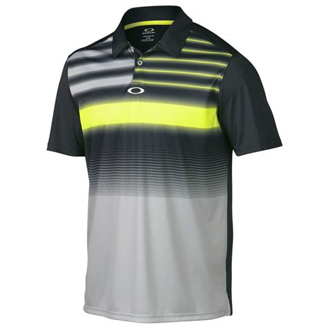 Big Size Polo Shirt Oakley Nike 2015 oakley funky print mens performance golf polo shirt