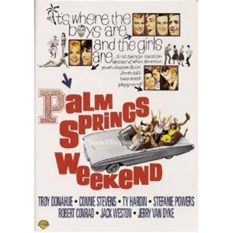 Weekend Models And A Dvd In A Microwave by Palm Springs Weekend Dvd Technicolor 1963