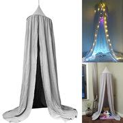 Promo Beckam Sanny 5011 Bag In Bag 220cm grey dome bed canopy reading play tents cotton mosquito net bed valance newchic