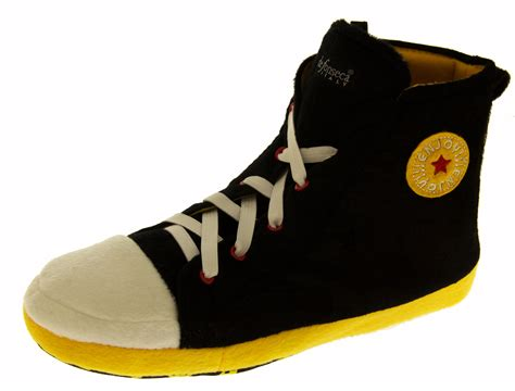 mens slipper boots size 11 mens novelty slippers high hi tops trainers slipper boots