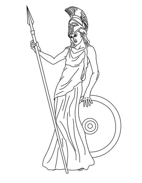 coloring pages of goddesses for free the goddess