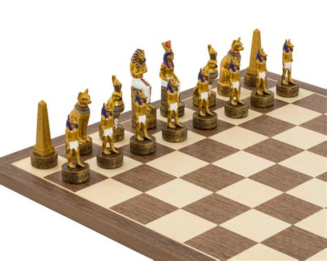 ancient chess set the ancient painted themed chess set by