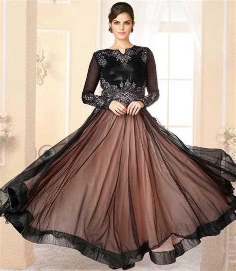 long frock designs for girls stylish different black long frocks designs 2017 2018