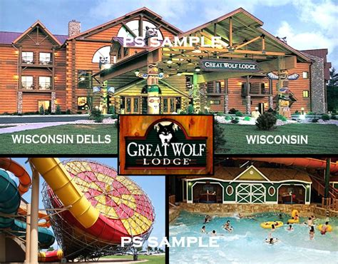 Where To Buy Great Wolf Lodge Gift Cards - wisconsin dells great wolf lodge travel souvenir fridge magnet ebay