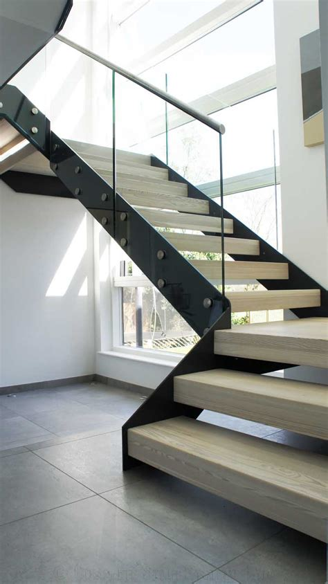 modern stairs bespoke staircase hertfordshire great pictures and