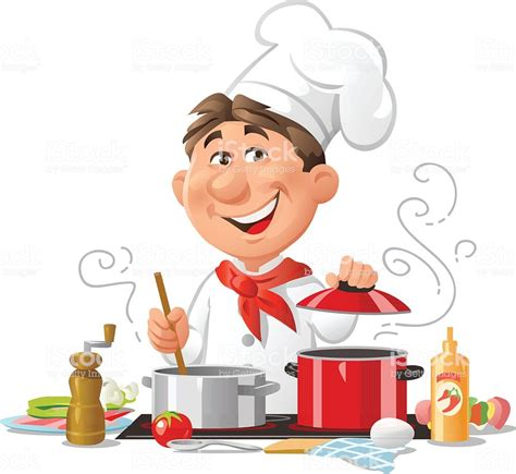 Cooking Chef chef cooking stock vector more images of