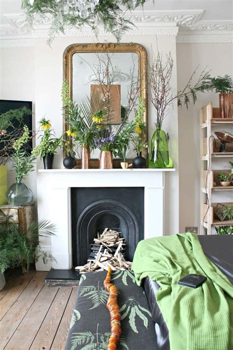 ideas    display indoor plants harmoniously