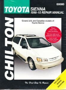best auto repair manual 2008 toyota sienna navigation system toyota sienna repair manual ebay