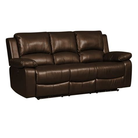 three seater recliner sofa buy three seater recliner sofa brown from our