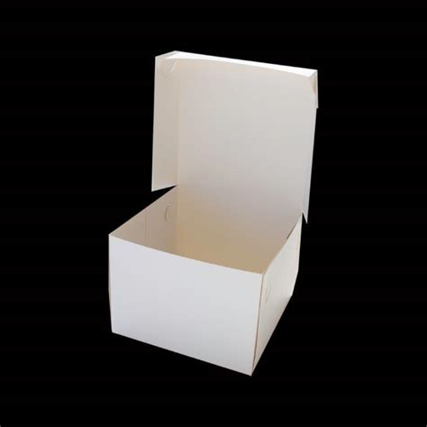 10 Inch Square Cake Box - bake n make shop 2 ur door store