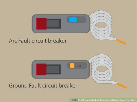 circuit breaker electrical outlet free wiring