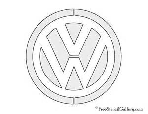 Logo Stencil Volkswagen Logo Stencil Free Stencil Gallery