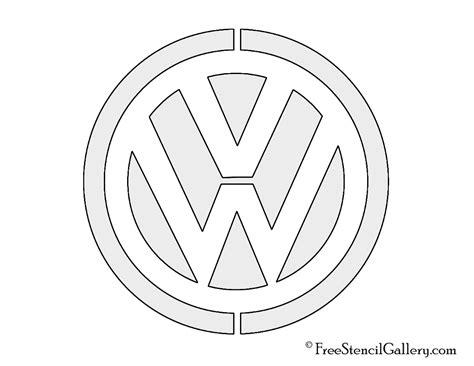 Automarken Logos Zum Ausmalen by Volkswagen Logo Stencil Free Stencil Gallery