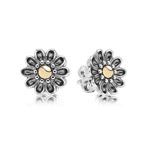pandora gerbera flower stud earrings 290551 pandora from