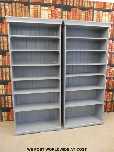 ikea billy regal ideen a pair of grey ikea liatorp bookcases with adjustable