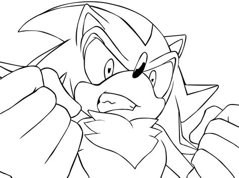 shadow the hedgehog coloring pages az coloring pages