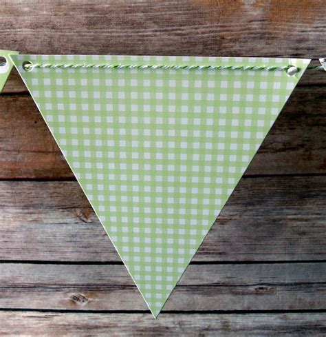 pattern for triangle banner light lime mix pattern triangle flag pennant banner 11ft