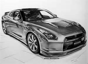 Nissan Gtr Drawing Nissan Skyline Gt R By Donescu On Deviantart